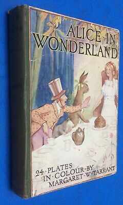 £35 • Buy ALICE IN WONDERLAND WITH 24 COLOUR PLATES BY MARGARET TARRANT C1932