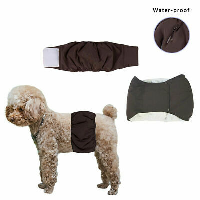 £1.59 • Buy Pet Male Dog Physiological Sanitary Pants Nappy Belly Bands Comfortable Diapers