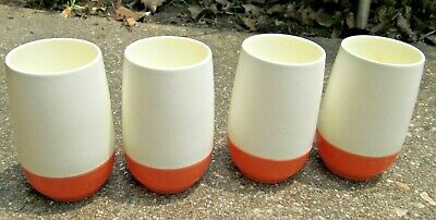 $9.99 • Buy Lot Of 4 BOPP-DECKER Plastics VECRON Roly Poly Juice Or Drink Tumblers Insulated