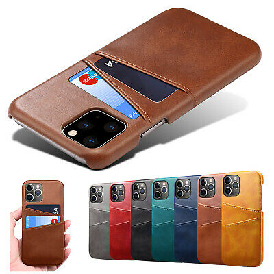 AU10.49 • Buy Case For IPhone 11 12 Pro Max XR X XS 7 8 Leather Wallet Card Slot Back Cover