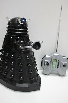 £79.99 • Buy Dr Who 12  Black Radio Controlled Dalek By Character Online IN BOX Fully Working