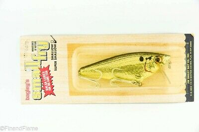 $ CDN16.70 • Buy Vintage Bagley Bait Small Fry Super Shallow Antique Fishing Lure New In Box TJ1