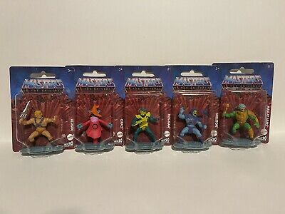 $14 • Buy Mattel Micro Collection: Masters Of The Universe Mini Figures Complete Set Of 5