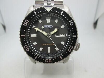 $ CDN69.24 • Buy Seiko 7s26-0020 Skx399 Daydate Stainless Steel Automatic Mens Diver Watch