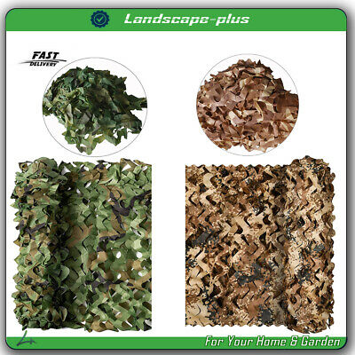 $17.85 • Buy Military Camouflage Netting Hunting Camping Camo Army Net Woodland Desert Leaves