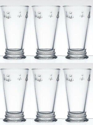 £39.99 • Buy LA ROCHERE Bee - 46cl Large Long Drink Thick Glass - Set Of 6