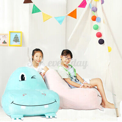 £27.53 • Buy Baby Kids Sofa Seat Children Hippo Chair Toddlers Armchair Bean Bag Chair Gift