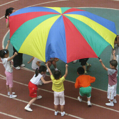 £10.29 • Buy 3/3.5M Children Kids Play Rainbow Parachute Family Game Exercise Sport Group TQ