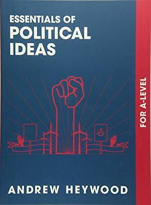 £14.99 • Buy Essentials Of Political Ideas: For A Level By Andrew Heywood Book The Cheap Fast
