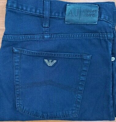 £10.49 • Buy Armani Jeans Comfort Fit (stretch) Shorts In Blue Waist 40 Fantastic Condition