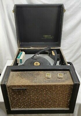 £130.44 • Buy Webcor -Holiday High Fidelity Fonograf, -Model EP1853-1, Portable Record Player
