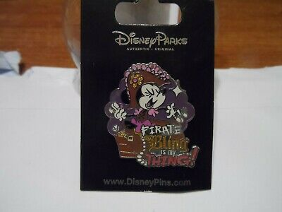 £4 • Buy Minnie Mouse Pirate  Bling Is My Thing!  Disney Trading Pin BRAND NEW On Card!