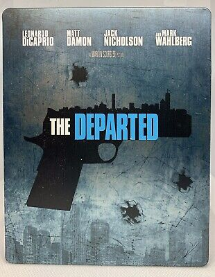 £5.03 • Buy The Departed (2006) Martin Scorsese Steelbook Blu-ray**condition Issue See Descr