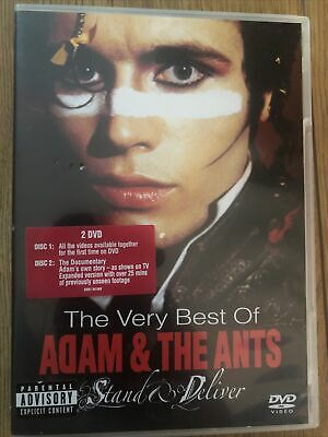£29.99 • Buy ADAM & THE ANTS STAND & DELIVER VERY BEST OF 2DVD VIDEOS & DOCUMENTARY Region 0