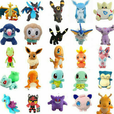 £2.99 • Buy NEW UK Rare Pokemon Collectible Plush Doll Character Soft Toy Stuffed Teddy Gift