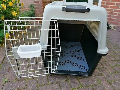£55 • Buy Ferplast Atlas 60 Professional Dog Carrier, Grey, Excellent Condition, Used Once