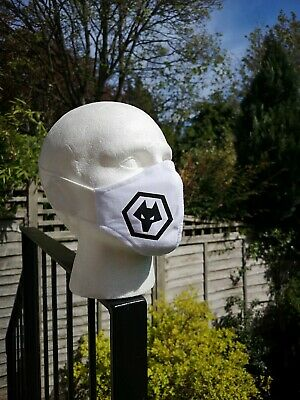 £3.99 • Buy Wolves Facemask