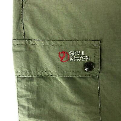 $16.49 • Buy Men's FJALLRAVEN Trousers Shorts Green Casual Outdoor Double Pants Size - 54