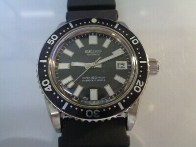 $ CDN176.24 • Buy Seiko Diver Mens Watch Date Automatic 7S26-0040 62mas Aftermarket Black Dial