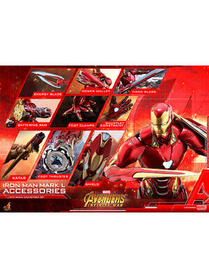 $ CDN630.68 • Buy Hottoys 1/6 Scale Accessories Iron Man Mark 50 Expansion Parts Set Avengers:
