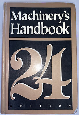 $33 • Buy Machinery's Handbook 24th Edition Tool Box Edition 1992 Great Condition