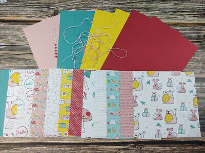 $10.95 • Buy Stampin' Up! SNAIL MAIL DSP Card KIT 12 Sheets 6 X 6 + CARDSTOCK + MORE