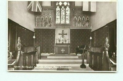 £3.99 • Buy The Chapel Soakville College East Grinstead RP Real Photo Postcard Unposted DM
