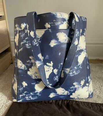 $ CDN67.51 • Buy Kate Spade New York Clouds Large Tote Bag Comes With Dust Bag