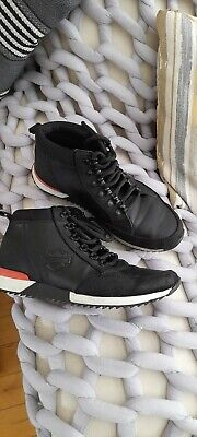 $ CDN77.90 • Buy Harley Davidson Mens Lace Up Leather Boots Black D96185 Size 10W Vgc