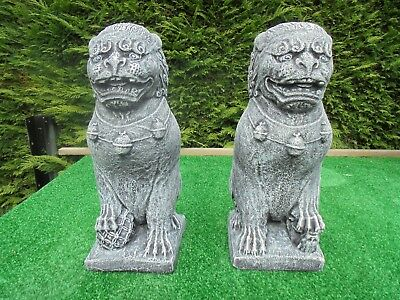 £40 • Buy Pair Of Left And Right Foo Dogs Garden Ornament
