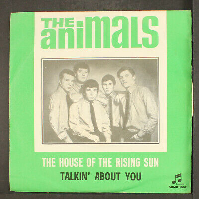 £18.29 • Buy ANIMALS: House Of The Rising Sun / Talkin' About You COLUMBIA 7  Single 45 RPM