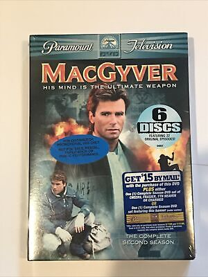 $13.99 • Buy New - MacGyver - The Complete Second Season (DVD, 2005, 6-Disc Set)