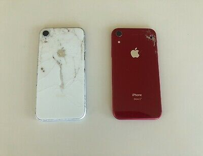 $ CDN149.99 • Buy Lot Of Two (2) Apple IPhone XR - Product Red & White - A1984 - For Parts Only