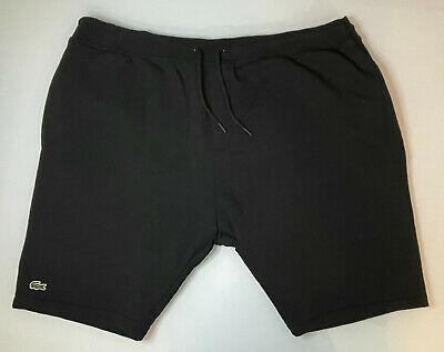 $34.99 • Buy Men's Lacoste Sport Athletic Sweat Shorts, Black Embroidered Size US 4XL , FR 9