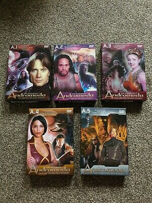 £7.99 • Buy Gene Roddenberrys Andromeda Uncut A.1, 2, 3, 4 & 5 - Complete And Ex Condition