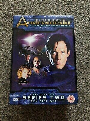 £4.99 • Buy Andromeda - Complete Series 2 - 10 DVD - Ex Condition - Gene Roddenberry - Uncut
