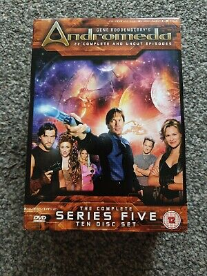 £4.99 • Buy Andromeda - Complete Series 5 - 10 DVD - Ex Condition - Gene Roddenberry - Uncut