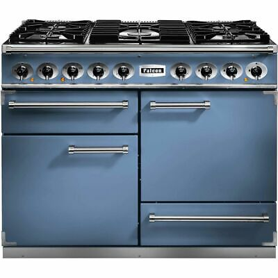 £4424 • Buy Falcon F1092DXDFCA/NM 1092 DELUXE 109cm 5 Burners A/A Dual Fuel Range Cooker