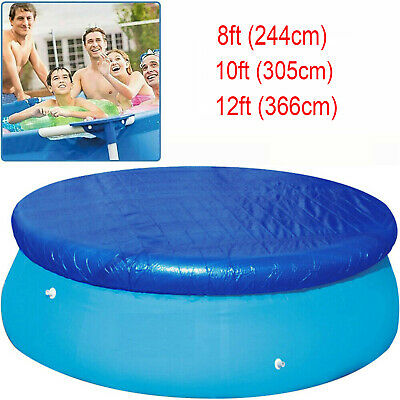 £15.98 • Buy Solar Pool Cover For 10, 12 Fast Set Inflatable Paddling Swimming Pool Protector