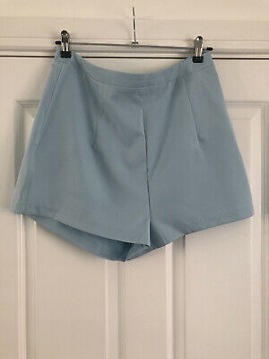 £12.50 • Buy BNWT In The Style Baby Pastel Aqua Blue Shorts Tailored Smart Casual Size 14