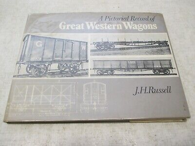 £5 • Buy A Pictorial Record Of Great Western Wagons. J H Russell, OPC, 1971. GWR Railway.