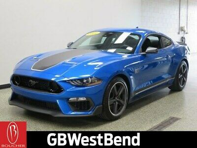 $67541 • Buy 2021 Ford Mustang Mach 1 2021 Ford Mustang, Blue With 3 Miles Available Now!