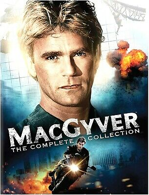$118.36 • Buy MacGyver The Complete Series DVD - 39 Disc Boxed Set - New
