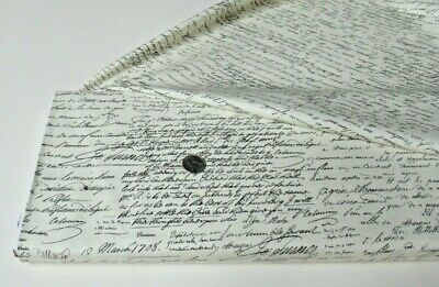 $10.77 • Buy Michael Miller Quilt-craft Fabric OLD SCRIPT Black 2 Yds (cx-4521) Top Selling