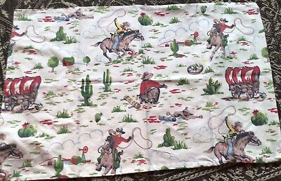 £0.99 • Buy Cath Kidston Pillowcase Cowboy Discontinued Used.