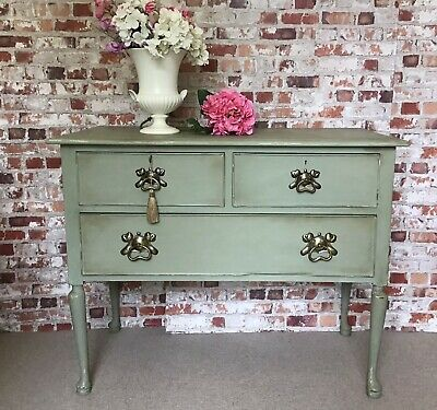 £125 • Buy Vintage  Upcycled Furniture Console / Hall Table Drawers