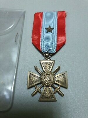 £25 • Buy Ww1 Or Later Original French Croix De Guerre Medal