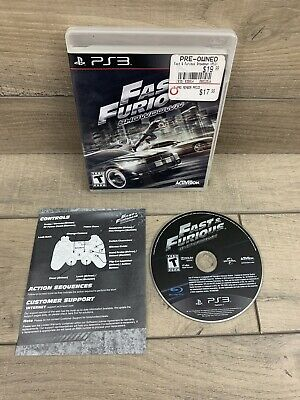 £9.34 • Buy Fast And Furious Showdown Playstation 3 PS3 Tested! Complete!
