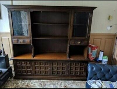 £320 • Buy Younger Toledo Wall Unit / Sideboard/ Display Cabinet. Ash & Chestnut. 20th Cent