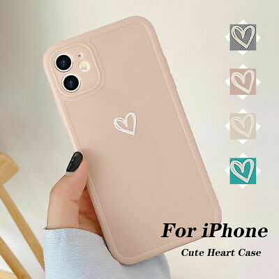 £3.29 • Buy Girly Heart Phone Case For IPhone 11 12 Pro XR 8 7 SE Shockproof Soft TPU Cover